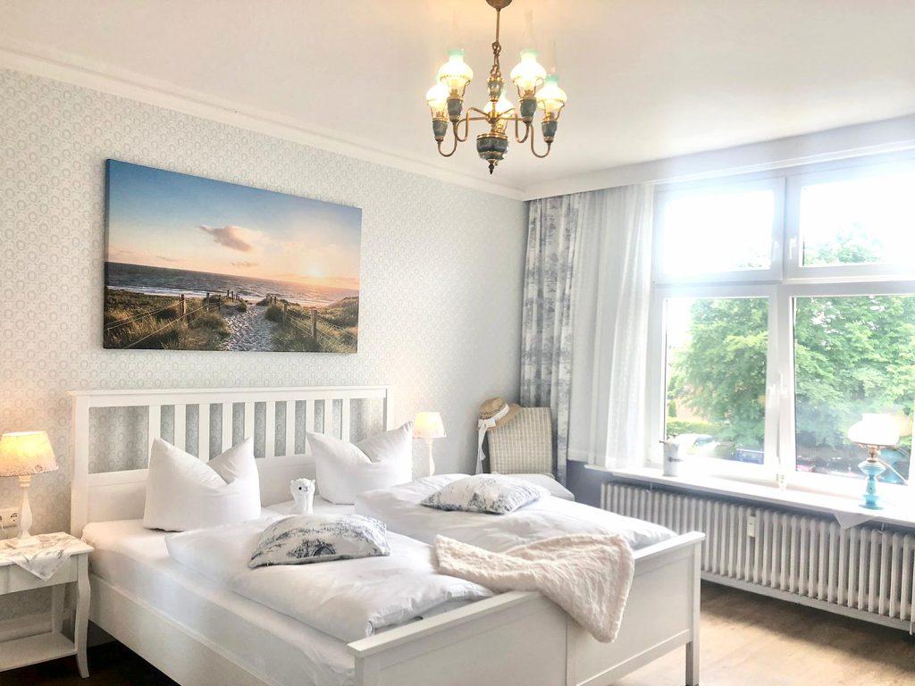 Schlafzimmer in Ferienwohnung Villa Imme